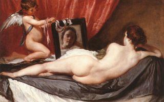 Описание картины диего веласкеса «венера с зеркалом»