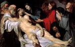 Описание картины питера рубенса «оплакивание христа»