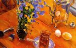 Описание картины кузьмы петрова-водкина «утренний натюрморт»