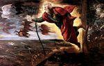 Описание картины якопо тинторетто «сотворение животных»