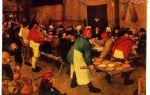 Описание картины питера брейгеля «крестьянская свадьба»