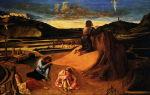 Описание картины джованни беллини «моление о чаше»