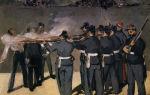 Описание картины эдуарда мане «расстрел императора максимилиана»