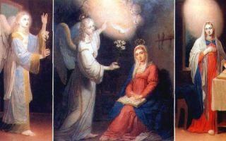 Описание картины владимира боровиковского «благовещение»