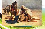 Описание картины василия сурикова «милосердный самаритянин»
