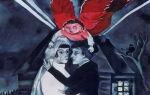 Описание картины марка захаровича шагала «свадьба»