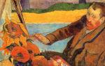 Описание картины поля гогена «портрет ван гога»
