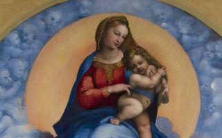 Описание картины рафаэля санти «мадонна ди фолиньо»
