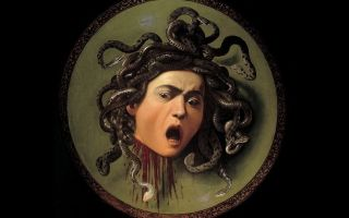 Описание картины микеланджело меризи да караваджо «голова медузы горгоны»