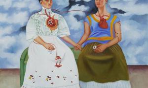 Описание картины фриды кало «две фриды»