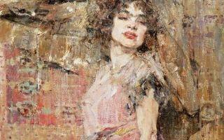 Описание картины николая фешина «дама в розовом»