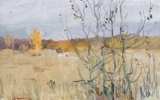 Описание картины аркадия пластова «в октябре»