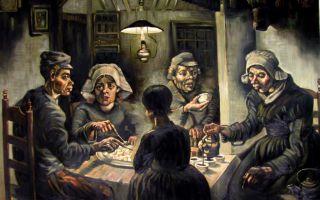 Описание картины винсента ван гога «едоки картофеля»