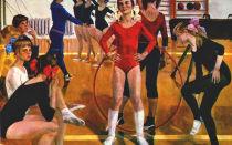 Описание картины александры сайкиной «детская спортивная школа»