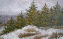 Описание картины юлия клевера «лес»