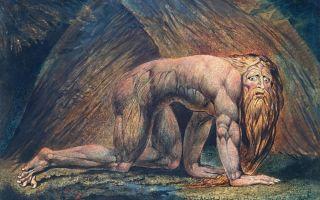 Описание картины уильяма блейка «навуходоносор»