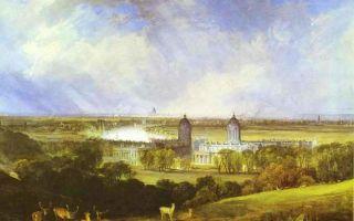 Описание картины уильяма тернера «лондон»