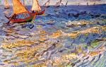 Описание картины винсента ван гога «море в сент-марье»