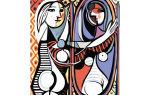 Описание картины пабло пикассо «девушка перед зеркалом»