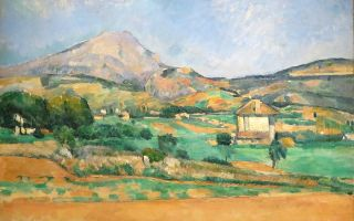 Описание картины поля сезанна «гора святой виктории» (гора сент виктуар)