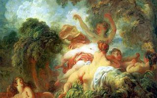 Описание картины жана-оноре фрагонара «купальщицы»