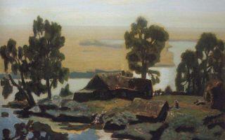 Описание картины николая крымова «полдень»