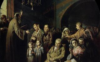 Описание картины василия перова «первый чин»