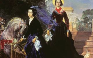 Описание картины карла брюллова «портрет сестер шишмарёвых»