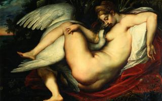 Описание картины микеланджело буанарроти «леда и лебедь»