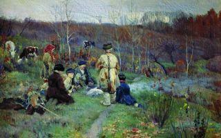 Описание картины сергея виноградова «дети»