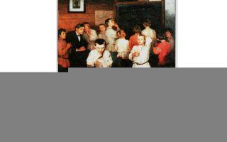 Описание картины николая богданова-бельского «устный счёт»