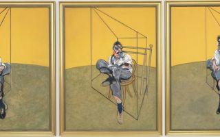 Описание картины френсиса бэкона «портрет люсьена фрейда»
