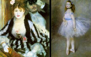 Описание картины пьера огюста ренуара «танцовщица»