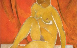 Описание картины владимира татлина «натурщица»