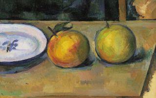 Описание картины поля сезанна «яблоки»