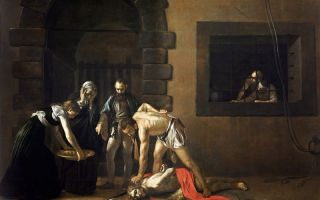 Описание картины микеланджело меризи да караваджо «иоанн креститель» (юноша с овном)