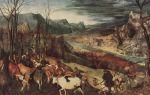Описание картины питера брейгеля «возвращение стада»
