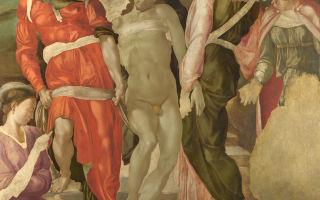 Описание картины микеланджело «снятие с креста»