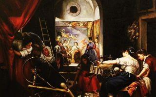 Описание картины диего веласкеса «пряхи»