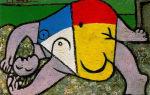 Описание картины пабло пикассо «мать пикассо»
