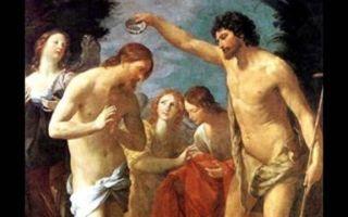 Описание картины гвидо рени «крещение христа»