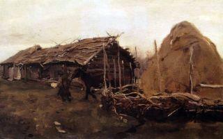 Описание картины василия кандинского «дамы в кринолинах» (1909год)