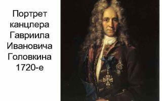 Описание картины ивана никитина «портрет канцлера головкина»