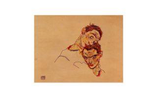 Описание картины эгона шиле «автопортрет»