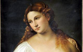 Описание картины тициана вечеллио «красавица»
