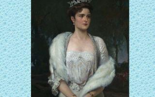 Описание картины александра маковского «портрет императрицы александры федоровны»