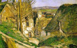 Описание картины поля сезанна «дом повешенного»