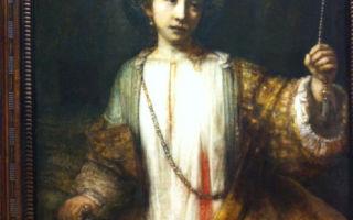 Описание картины рембрандта харменса ван рейна «лукреция»