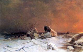 Описание картины арсения мещерского «ледоход»