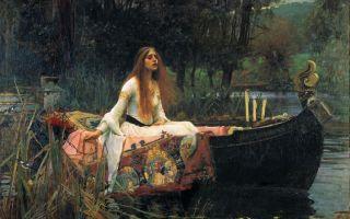 Описание картины джона уильяма уотерхауса «леди из шалот»